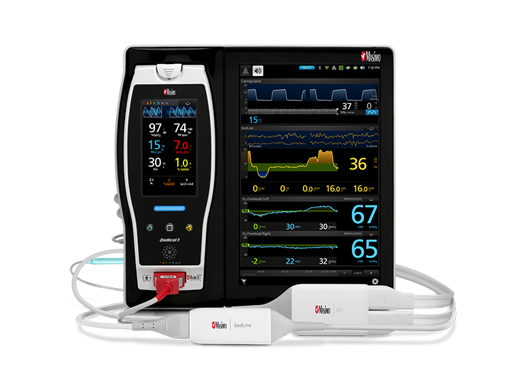 Masimo - Root CApnography SedLine O3 digital 3-up